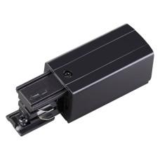 135047 NT19 012 черный Соединитель-токопровод-левый для трехфазного шинопровода IP20 220V