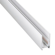 135092 SHINO NT20 000 белый Низков. шинопровод 2м (токопровод и заглушки в комплекте) IP20 48V FLUM