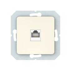 Компьютерная розетка Vilma SL2500, одноместная (1ХRJ45 CAT5E UTP), без рамки