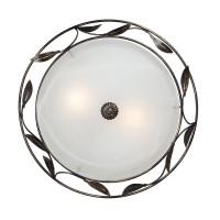 Светильник настенный V6858/2A, 2хЕ27 макс. 60Вт чёрный с золотом Vitaluce