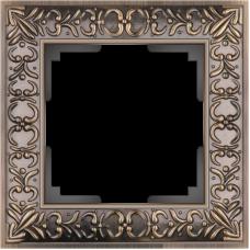 Рамка на 1 пост (бронза) WL07-Frame-01