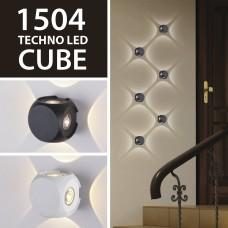 Новинка - серия уличных светильников 1504 TECHNO LED Cube от Elektrostandard