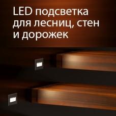 Новинки от Elektrostandard! Встраиваемая светодиодная подсветка для степеней лестниц и дорожек